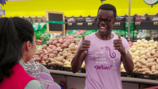 William Jackson Harper in The Good Place Season 3!