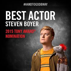 Steven Boyer Tony Nomination for Share
