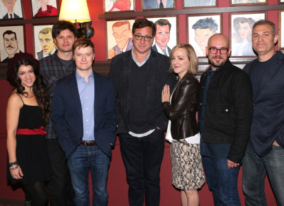 Hand to God cast with Saget and Kudisch